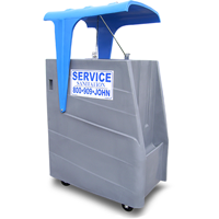 High Rise Porta Potty Rental