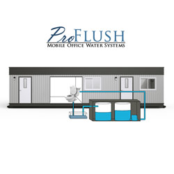 fresh water trailer system