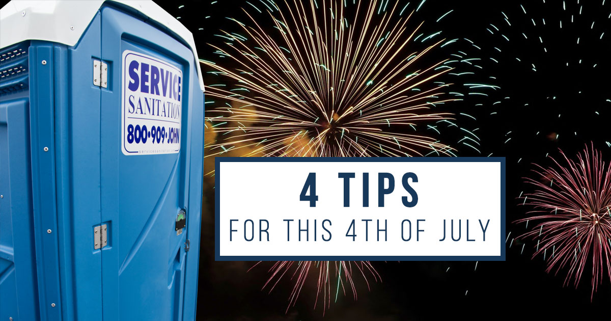4 Simple Tips to Keep Your Porta Potty Rental Safe This 4th