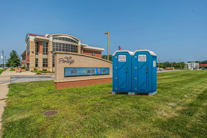 Porta Pottes in Portage